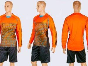 Форма футбольного вратаря с шортами LIGHT (PL, р-р L-XXL, оранжевый) - 2XL (52-54)