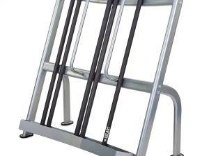 Подставка (стойка) для бодибаров Zelart (металл, р-р 128х67х132cм)