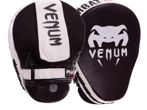 Лапа Изогнутая кожаная (2шт) VNM CELLULAR 2.0 (крепление на липучке, р-р 24.5x18.5x4см, цвета в ассортименте)VN222 - Цвет Белый-черный