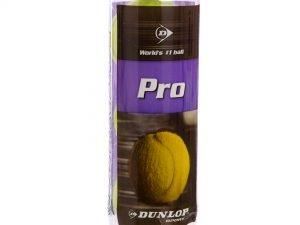 Мяч для большого тенниса DUNL PRO (3шт) (в вакуумной упаковке) Replika