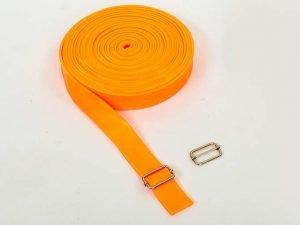 Жгут эластичный спортивный, лента жгут (латекс, l-10м, 3смx4,5мм, цвета в ассортименте) - Цвет Оранжевый