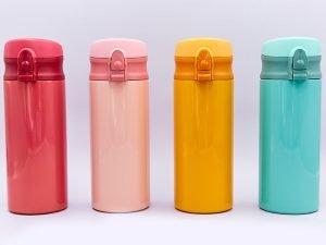Бутылка для воды-термос SANMEGA 350ml (сталь, цвета в ассортименте)
