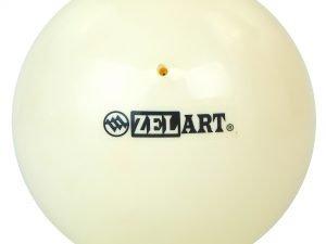 Мяч для художественной гимнастики 20см Zelart (PVC, d-20см, 400гр, цвета в ассортименте) - Цвет Белый