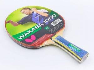 Ракетка для настольного тенниса 1 штука BUTTERFLY (древесина, резина)