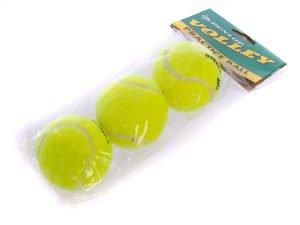 Мяч для большого тенниса DUNL (3шт) VOLLEY (в пакете) Replika
