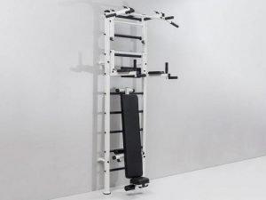 Шведская стенка со скамьей для пресса и спины Атлант (АТЛ) (металл, 66x238x54 см)