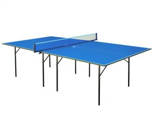 Стол теннисный GSI-Sport (Gk-1) (ДСП толщина16мм, металл, размер 2,74х1,52х0,76м, синий)