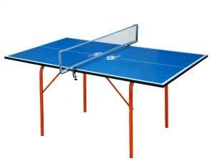Стол теннисный детский GSI-Sport (Junior) (ДСП толщина16мм, металл, пластик, размер 1,36х0,76х0,64м,сетка)