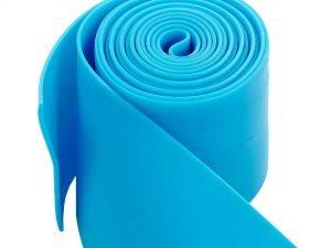 Жгут эластичный спортивный, лента жгут VooDoo Floss Band (латекс,l-2,5м, 8смx2мм,син,кр)