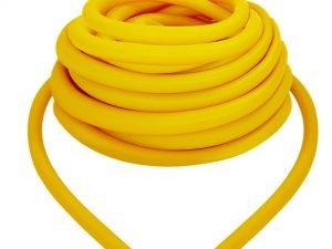 Жгут эластичный трубчатый спортивный (латекс, d-5 x 8мм, l-1000см, желтый)