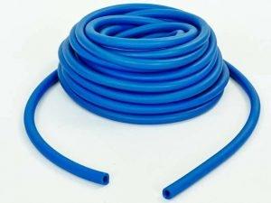 Жгут эластичный трубчатый спортивный (латекс, d-5 x 9мм, l-1000см, синий)