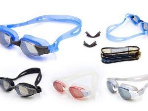 Очки для плавания LEGEND VANQUISHER (поликарбонат, силикон, зеркальные, цвета в ассортименте)