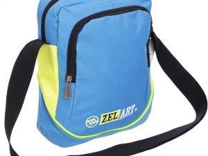 Сумка вертикальная маленькая через плечо 23х18х7,5см Zelart (полиэстер, цвета в ассортименте) - Цвет Голубой