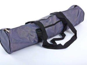 Сумка для йога коврика Yoga bag SP-Planeta (размер 16смх70см, полиэстер, хлопок, серый)