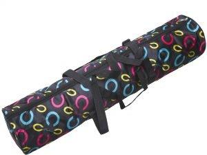 Сумка для йоги Yoga bag fashion SP-Planeta (размер 16смx67см, нейлон, черный)