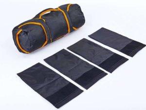 Сумка для кроссфита TRAINING BAG (терилен,нейлон,р-р 60х20см, 4 филлера до 10кг для песка)