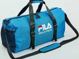 Сумка для спортзала FILA (полиэстер, р-р 52x28x23см, цвета в ассортименте) - Цвет Синий