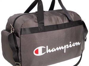 Сумка для спортзала CHAMPION (полиэстер, р-р 58x34x25см, цвета в ассортименте) - Цвет Серый