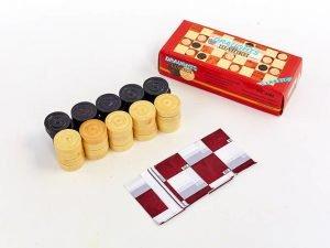 Запасные фигурки для шашек (дерево, d шашки-3,2см)