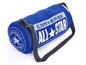 Сумка для спортзала Бочонок CONV с отделением для обуви (PL, р-р 45х25х25см, цвет в ассортименте) - Цвет Темно-синий