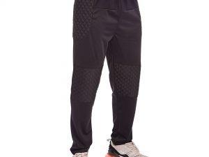Штаны футбольного вратаря (полиэстер, р-р L-XXL, черный) - 2XL (52-54)