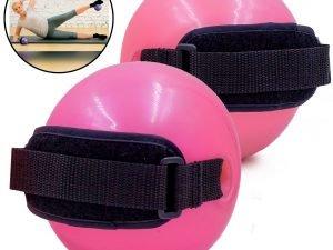 Мяч утяжеленный с манжетом (2×1,5LB) Pro Supra WEIGHTED EXERCISE BALL (резина, d-11, розовый)