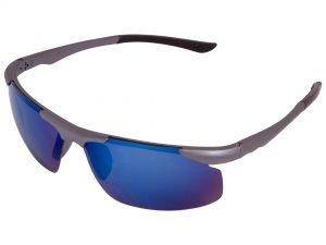 Очки спортивные солнцезащитные (пластик, акрил, цвета в ассортименте) - Цвет Серебро