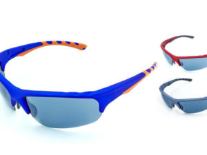 Очки спортивные солнцезащитные (пластик, акрил, цвета в ассортименте)