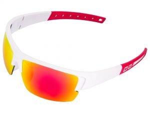 Очки спортивные солнцезащитные (пластик, акрил, цвета в ассортименте) - Цвет Белый