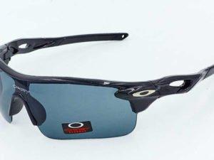 Очки спортивные солнцезащитные OAKLEY (пластик, акрил, черный)