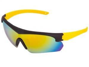 Очки спортивные солнцезащитные OAKLEY (пластик, акрил, цвета в ассортименте) - Цвет Желтый