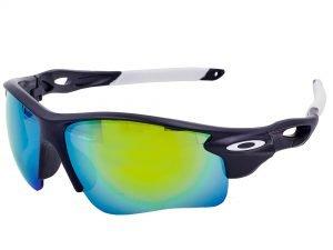 Очки спортивные солнцезащитные OAKLEY (пластик, акрил, цвета в ассортименте) - Цвет Белый