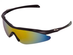 Очки спортивные солнцезащитные OAKLEY (пластик, акрил, цвета в ассортименте) - Цвет Салатовый