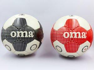 Мяч футбольный №5 PERL JM (5 сл., сшит вручную, цвета в ассортименте) (Replica)