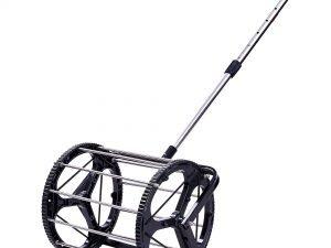 Машинка для сбора мячиков (металл, р-р 43х43х100см)