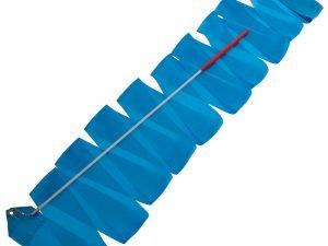 Лента для художественной гимнастики с палочкой 4м Lingo (нейлон, l-4м, палочка-металл, l-47см, цвета в ассортименте) - Цвет Голубой