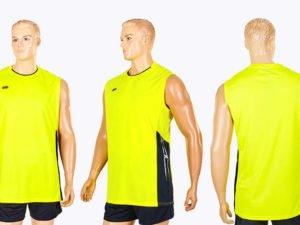 Форма волейбольная мужская (полиэстер, р-р M-4XL-155-185см(50-80кг), желтый) - 2XL, рост 170-175, 65-70кг