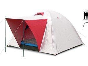 Палатка универсальная 3-х местная с тентом и тамбуром (р-р 2х2х1,35м, PL)