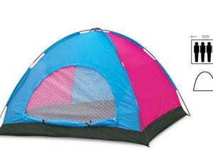 Палатка универсальная 4-х местная (р-р 2х2,2х1,35м, PL)