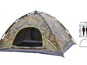 Палатка-автомат с автоматическим каркасом 2-х местная (р-р 2х1,5х1,1м, камуф. Realtree)