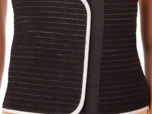 Пояс для коррекции фигуры PS (р-р 108*24 см, цвет черный)