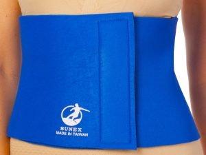 Пояс для похудения MONALISA 8in x 40in x 3мм (неопрен, р-р 20см x 100см x 3мм, синий)
