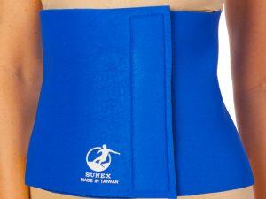 Пояс для похудения TINA 10in x 40in x 3мм (неопрен, р-р 25см x 100см x 3мм, синий)
