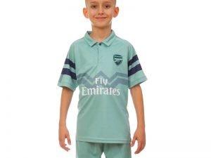 Форма футбольная детская ARSENAL резервная 2019 SP-Planeta (р-р 20-28 6-14 лет, 110-155см, мятный-синий) - 22, возраст 8лет, рост 120-125