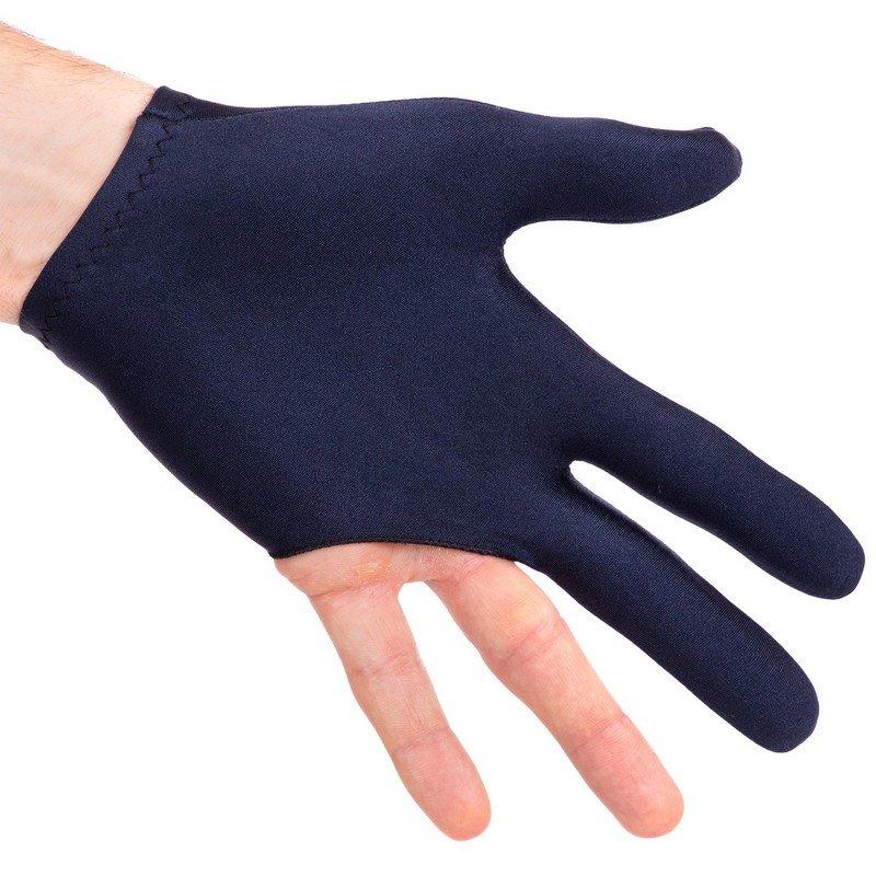 Перчатка бильярдная (1шт) Cuetec (нейлон, эластан, черный, в уп.-2шт, цена за 1шт)