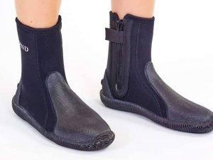 Ботинки для дайвинга LEGEND (5мм неопрен, резина, размер M-XL EU-40-45, RUS-40-44, черный) - L (43)