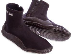 Ботинки для дайвинга LEGEND (5мм неопрен, резина, размер L-XXL EU-40-46, RUS-40-45, черный) - L (43)