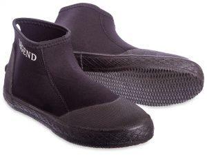 Ботинки для дайвинга LEGEND (5мм неопрен, резина, размер L-XL EU-40-45, RUS-40-44, черный) - L (43)