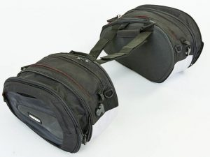 Мотосумка (2 кофра текстильных) DIANISE (PL, р-р 42х25х19см, черный)