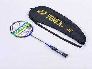 Ракетка для бадминтона профессиональная 1 штука в чехле YONEX DUORA 88 (цвета в ассортименте, дубл)